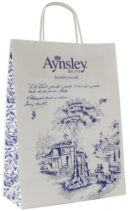 twisted handle paper bags printed manufacturer UK