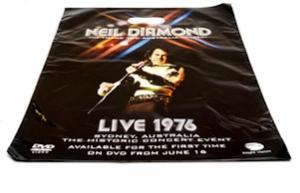 Neil Diamond Printed Plastic Bag