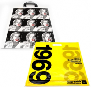 printed plastic carrier bags custom printed polythene bags