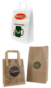 UK manufacturer of Custom printed paper bags