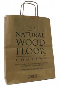 Natural Wood Floor Company Paper Bag