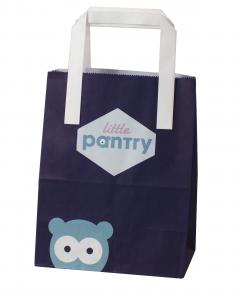 Small printed paper bags, printed takeaway bags, bakery paper bag