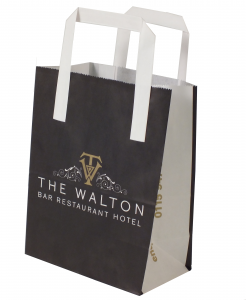 Small printed paper bags, printed show bag, exhibition bag, hotel gift bag