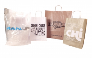 Bodypower expo bags, bodypower carrier bags, body power exhbition carrier bags, printed bags