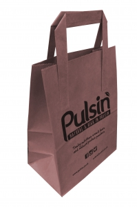 Exhibition carrier bags, small paper bags, sos bags, printed sandwich bags, printed takeaway bags