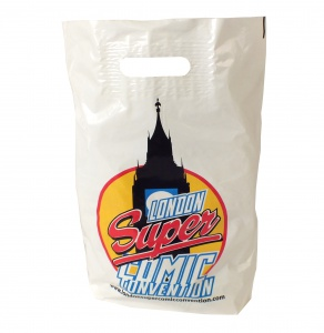 promotional plastic bags with logo cheap