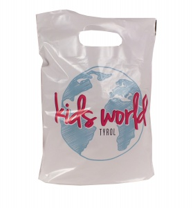 clear plastic gift bags
