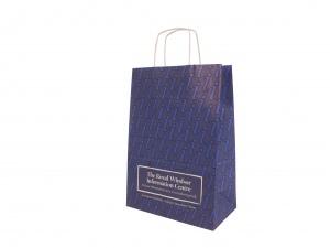 Carrier bags printed
