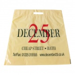 Christmas plastic bags