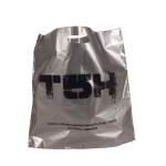 Silver carrier bags