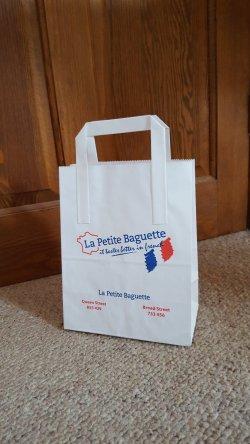 Bespoke, custom small paper bag maker in the UK- Burgass