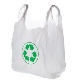 Plastic shopping bags recycling